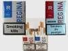 Продажа сигарет - оптовая продажа Regina Red, blue Duty Free